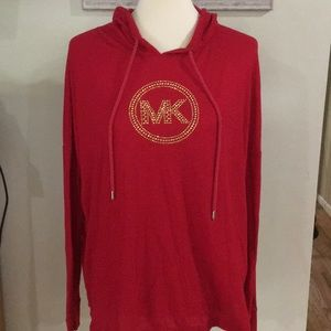 Michael Kors lightweight red sweater